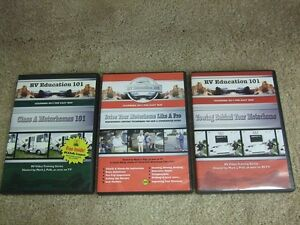 Owning - Driving – Towing -Motor Home DVDs  - RV Education 101