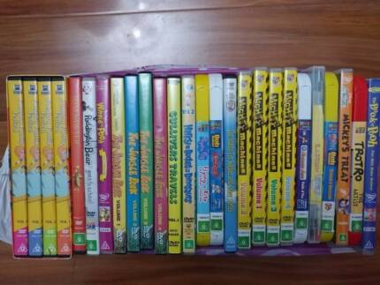 26x kids DVDs include Mickey + Bob the builder + Peppa Pig