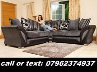 this week only free pouffe with brand new corner sofa
