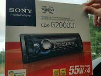 Sony Xplod CDX-G2000UI Car Stereo 55 x 4 CD/AUX/USB £35