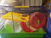 Hamster house with accessories
