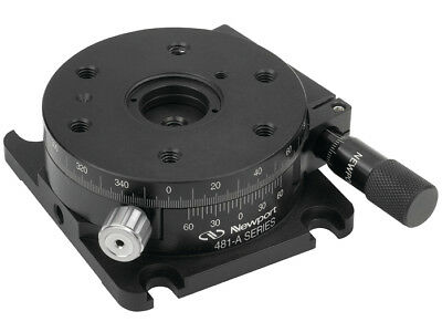 New - Newport 481-a Precision Rotation Stage With Micrometer