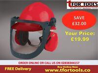 Forestry Helmet Draper Expert 11971 - face eye visor Noise & ear defenders