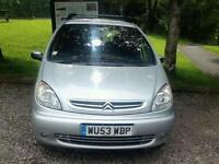 Citreon xsara Picasso exclusive 2.0hdi. Has new cambelt and mot
