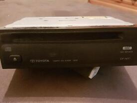 Toyota CD player.