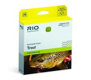 RIO MAINSTREAM TROUT NEW 2013 WF-3-F #3 WT. WEIGHT FORWARD FLOATING FLY LINE