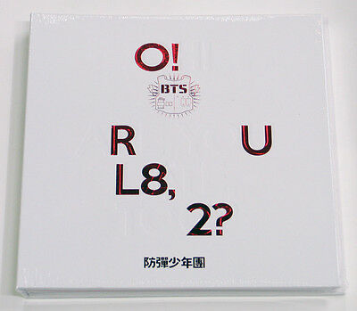 BTS - O!RUL8,2? (1st Mini) CD+2 Photocards+Photobook+Folded Poster+ Free Gift