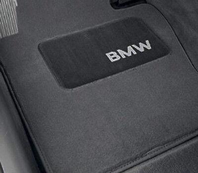 BMW Gray Carpet Floor Mats Heel Pad 1995-2001 E38 740iL 750iL Sedan 82111469520