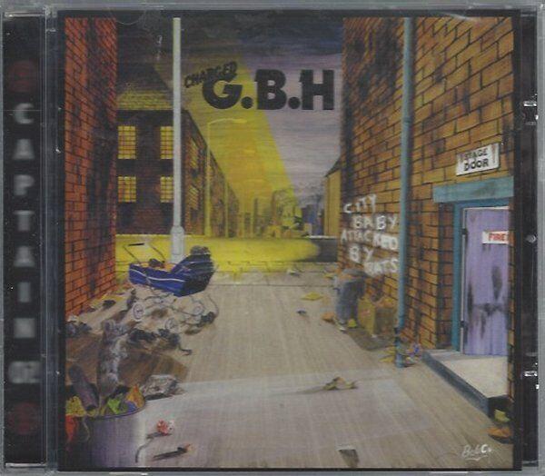 G.B.H - CITY BABY ATTACKED BY RATS - (still sealed cd) - AHOY CD 185