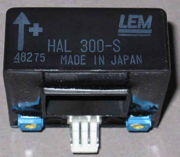 300A Current Sensor / Transducer, HAL-300-S (LEM) - NEW - Hall-Effect Type