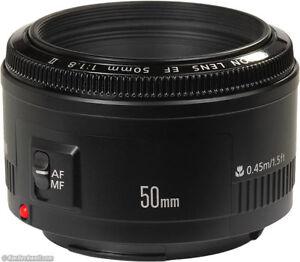 Canon EF 50mm/ 1.8 II