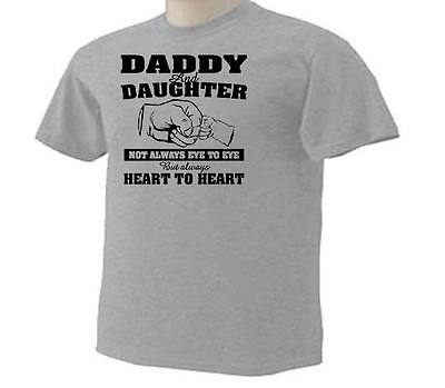Daddy Dad Father Daughter Hands Loving Heart T Shirt