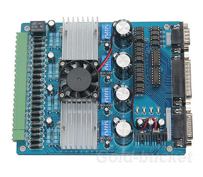 4 Axis Cnc Stepper Motor Driver Tb6560ahq Board Controller Driver Board