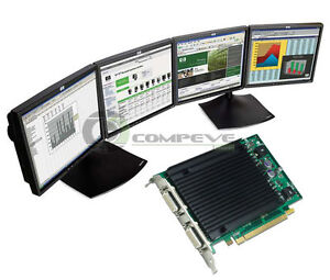 Nvidia Video Card for Dell OptiPlex 755 Computer PC  Tranding 4 Monitor support
