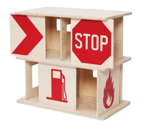 Speelgoed garage hout zelf maken