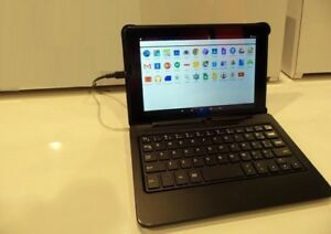 Quad-Core Tablet/PC Window   Come whit keyboard +Leather casing