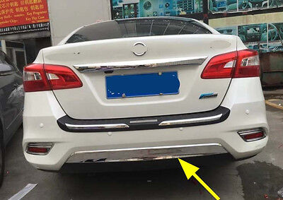 Chrome Rear Guard Protector Cover Trim for 2016 Nissan Sentra Sylphy ABS Trims
