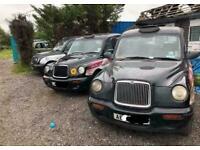EX LONDON TAXIS INT TXII BLACK TAXI TX2 AUTO