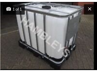 600L IBC water tank