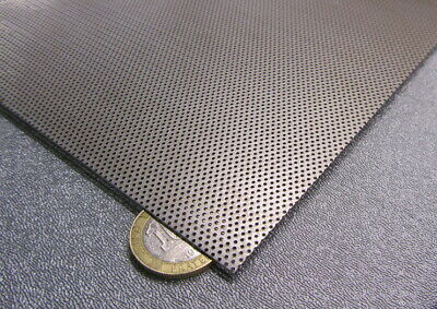 Perforated Staggered Steel Sheet .024 Thick X 24 X 24 .033 Hole Dia.