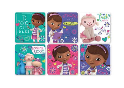 12 Doc McStuffins Stickers Kid Reward Party Goody Loot Bag Filler Favor Supply