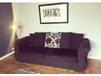 Beautiful 4 & 3 seater sofas