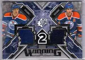 Hall and Eberle Game Jersey Card
