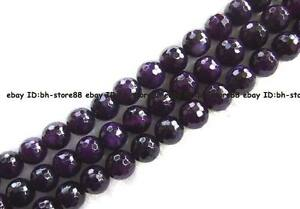 6-8-10-12-14mm-dark-purple-Agate-round-facted-Beads-15