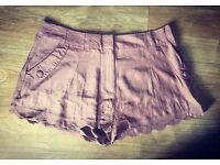 New Look Brown Shorts - Size 16