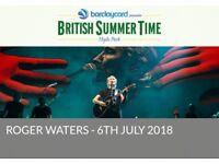 BST Hyde Park Roger Water Tickets