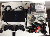Ps2 Playstation2 + games + accessories