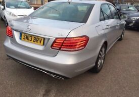 2013 Reg BARGAIN New shape E Class 220diesel low mileage good spec