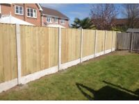 New Feather Edge Flat Top Fence Panels * High Quality * Heavy Duty