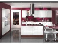 10 Gloss kitchen. Units complete bargain limited time only