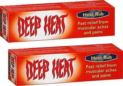 35 Twin Pack (DEEP HEAT RUB 35g X2 TWIN PACK - FOR MUSCULAR ACHES & PAINS)