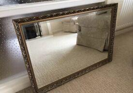 Beautiful ornate wall mirror