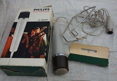 altes Mikrofon Philips N 8207/00 für Sammler