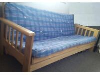 Futon Sofa Bed - Like New! Local delivery