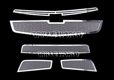 For 2011-2013 Chevy Cruze Stainless Steel Mesh Premium Grille Grill  Combo