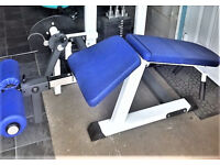 As new gym bodybuilding weights Commercial quality leg curl hamstring machine