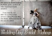 Bridal Makeup for 2018 Fall & Winter Weddings Still Available!