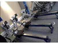 Concept 2 model D pm3 rowers