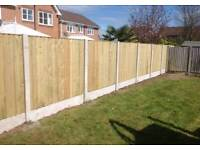 Feather edge fence panels. All sizes available.