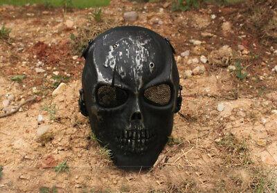 Airsoft Softair Paintball Maske Schutzmaske Mask Gotcha Totenkopf Schädel