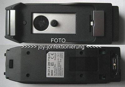 BMW  MINI Handy Snap in Adapter iPhone 5 / 5s Connect Handyschale Ladeschale