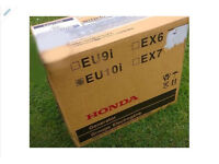 BRAND NEW AND SEALED honda eu10i generator genny inverter silent suitcase portable boating camping