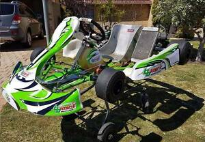 TB KART S55 with IAME X30 engine (go kart) Balcatta Stirling Area Preview