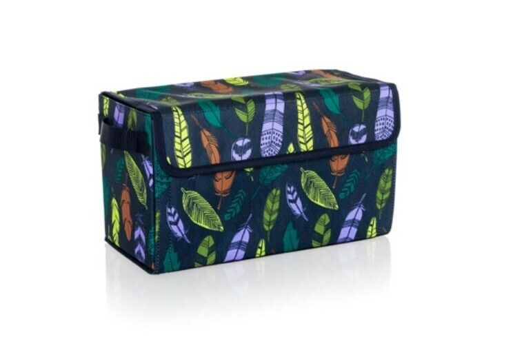 Thirty-One Get Creative Case Falling Feathers NIP