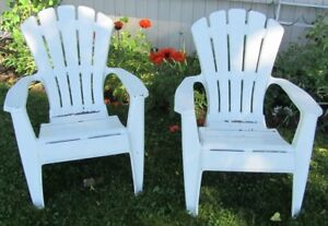 ADIRONDACK Chairs - 2 available