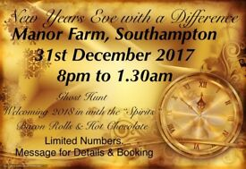 New Years Eve Ghost Hunt Manor Farm 31st December 2017 8pm to 1am £50 per Person